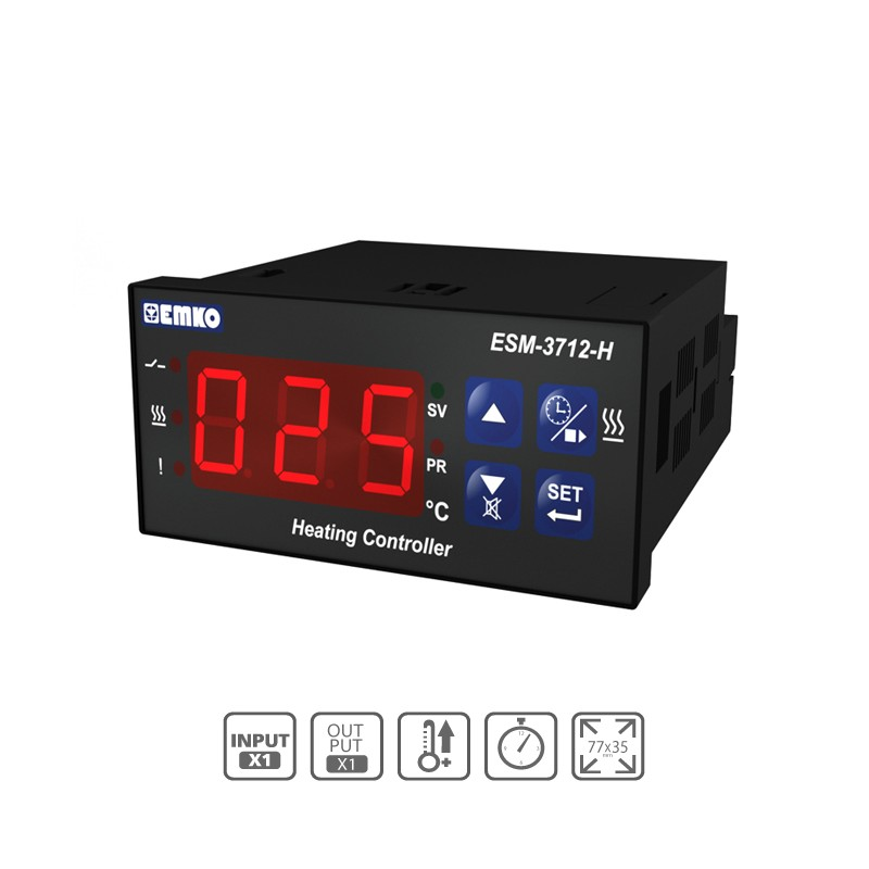 ESM-3712-H Dual Set Digital ON/OFF Heating Device With Buzzer (Set+