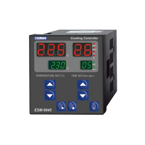 ESM-9945 with Steam Output Cooking Controllers (96 X 96 mm )