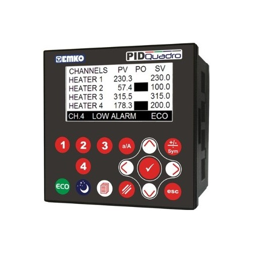 PID QUADRO 4 Channel PID Controller