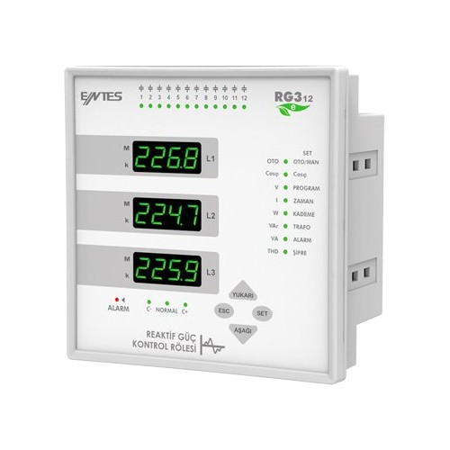 RG3-12e Power Factor Controllers