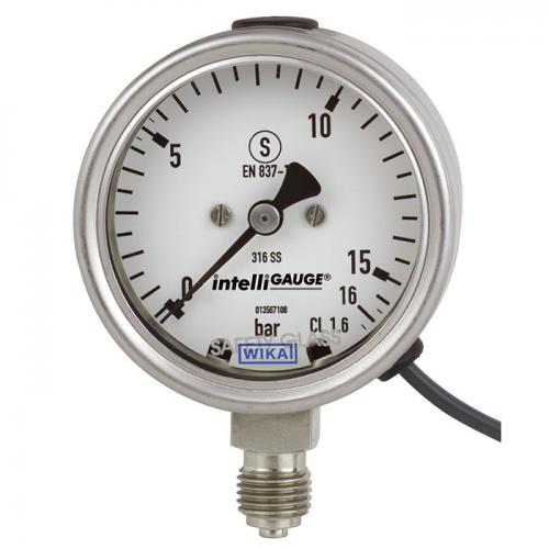Model PGT23.063 Bourdon tube pressure gauge with output signal
