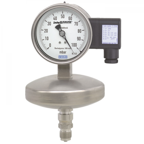 Models APGT43.100, APGT43.160 Absolute pressure gauge with output signal