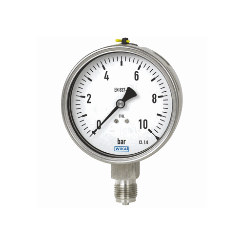 Models 232.50, 233.50 Bourdon tube pressure gauge