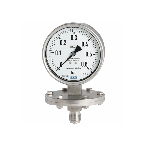 Models 432.50, 433.50 Diaphragm pressure gauge