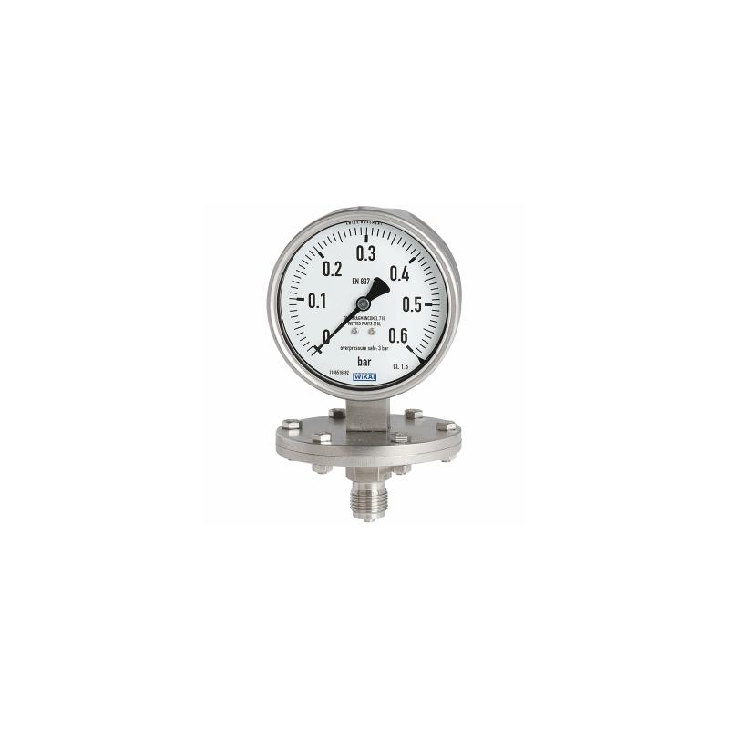 Models 432.50, 433.50 Diaphragm pressure gauge
