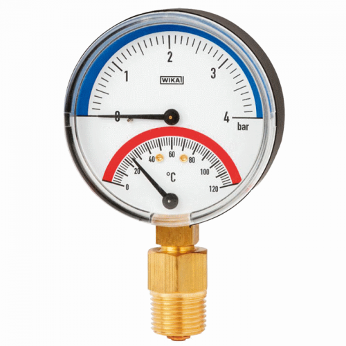 Models 100.0x, 100.1x Thermomanometer For pressure and temperature measurement