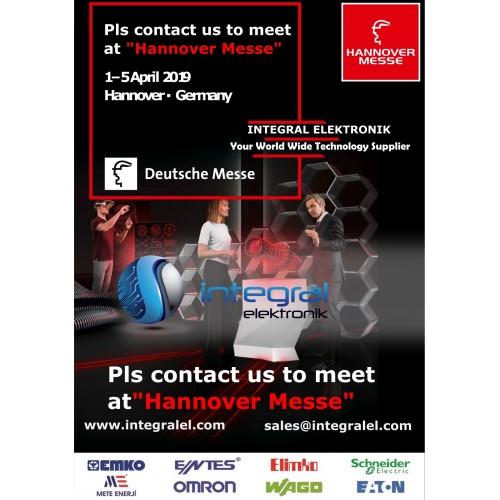 Hannover Messe 1-5 April 2019 Hannover - Germany