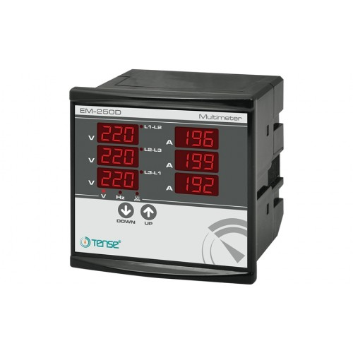 EM-250D Multimeter(250A Current Transformer)