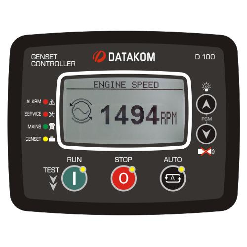 D-100 Advanced Genset Controller