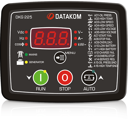DKG-225 AMF Unit with Battery Charger
