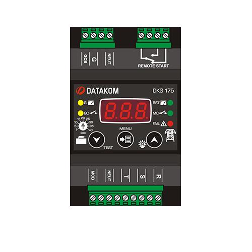 DKG-175 Din Rail Mounted ATS Controller