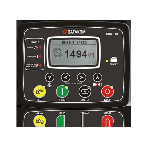 DKG 319 CAN-MPU Manual and Remote Start Unit