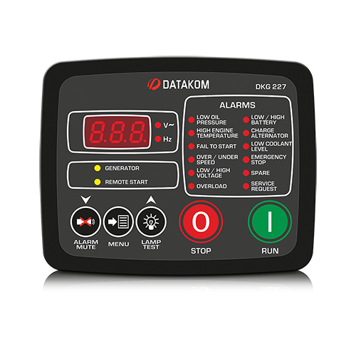 DKG-227 Manual and Remote Start Unit