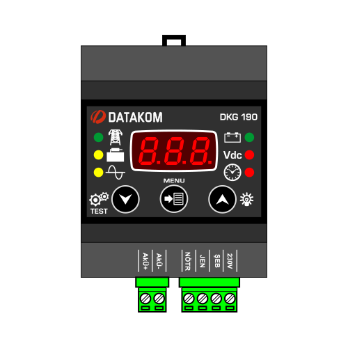DKG-190 Battery Charge Controller