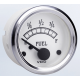 Fuel Gauge, Use with 10-184 Ohm Sender