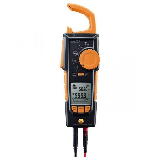testo 770-3 - Clamp meter with Bluetooth