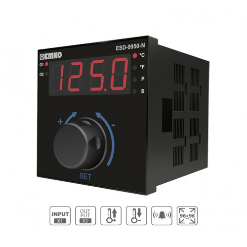 ESD-9950-N Analogue Temperature Controller with digital indicator