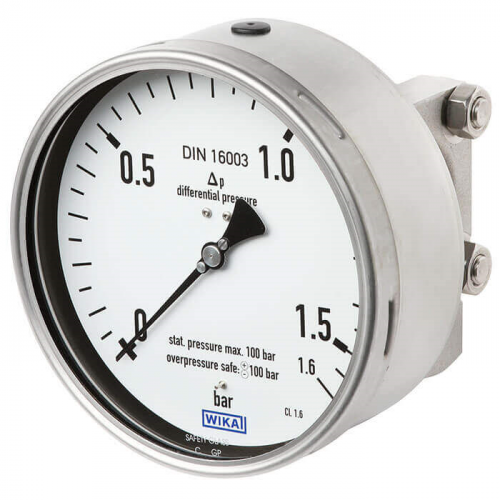 Models 732.14, 762.14 Differential pressure gauge