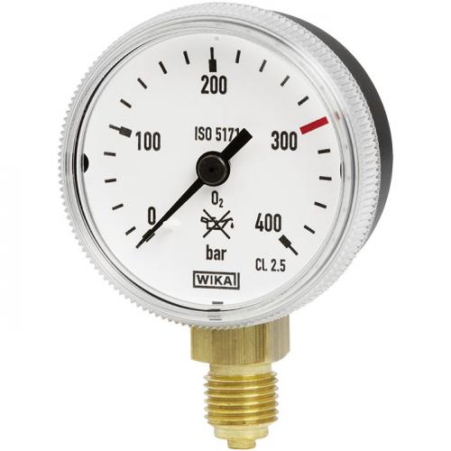 Model 111.31 Bourdon tube pressure gauge, copper alloy
