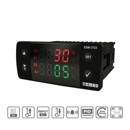 ESM-3723 Dijital Sıcaklık + Nem Kontrol Cihazı
