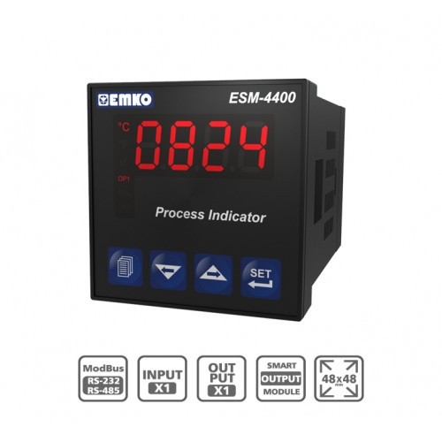 "ESM-4400 ""Smart Output Module"" Process Indicator"