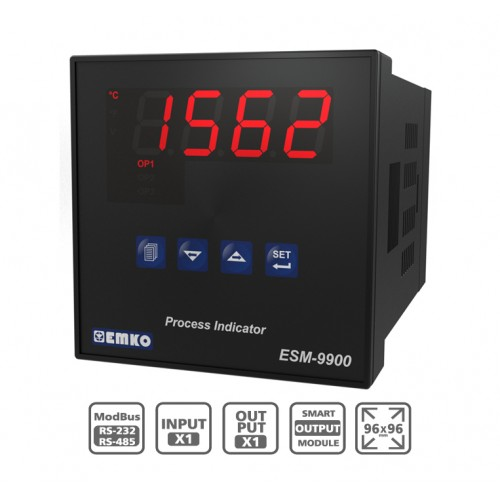 "ESM-9900 ""Smart Output Module"" Process Indicator"