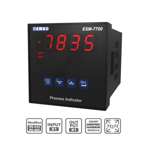 "ESM-7700 ""Smart Output Module"" Process Indicator"