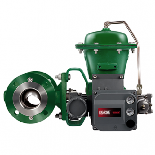 Fisher Vee-Ball V150 Flanged Control Valve