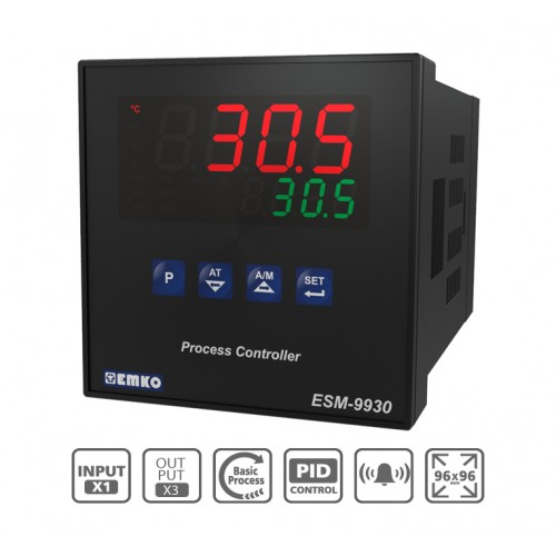 ESM-9930 Process Control Device with Universal Input and Dual Set